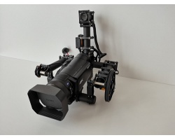 Carbon Gimbal mit Sony 4K Cam FDR-AX100